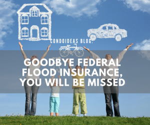 Goodbye Federal Flood Insurance, You Will Be Missed