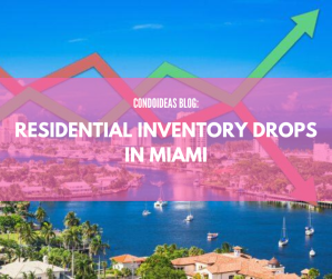 Residential inventory drops in Miami